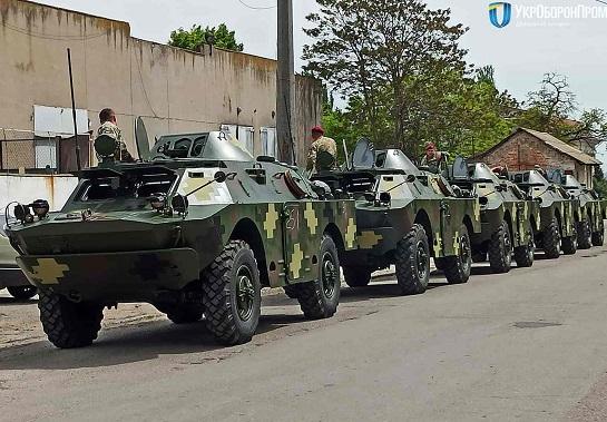 Президентський полк поповнив свій парк бронемашин