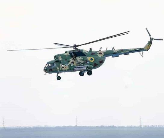 Вертолітники морської авіації відпрацювали нанесення вогневого удару некерованими авіаракетами