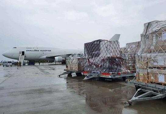 Літак зі США доставив в Україну військове обладнання для ЗСУ на 25 мільйонів доларів