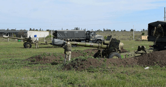 Артилеристи ВМС України відпрацювали взаємодію з аеророзвідкою