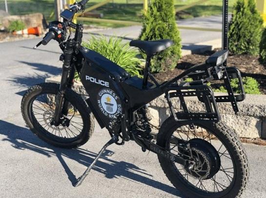 Поліція США і Мексики закупили для патрульних електровелосипеди українського виробництва