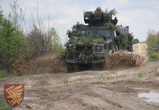 """Десантно-штурмова бригада відпрацювала нанесення удару """"в умовах обмеженого часу і за різких змін обставин"""""""