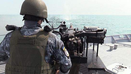 """Патрульний катер """"Старобільськ"""" відпрацював у Чорному морі """"експериментальну курсову задачу"""""""