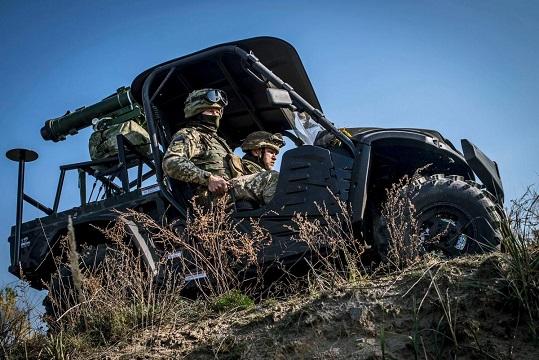 На Луганщині знищено вантажівку бойовиків, яка збирала боєприпаси від двох своїх розбитих мінометів…