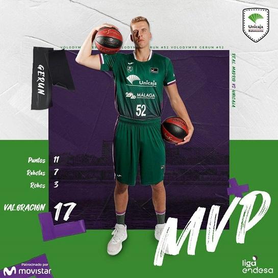 Українець став найефективнішим гравцем баскетбольного клубу у переможній грі Чемпіонату Іспанії