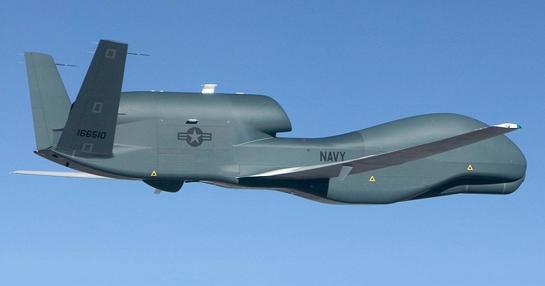 Стратегічний безпілотний літальний апарат Global Hawk США здійснив авіарозвідку над Донбасом