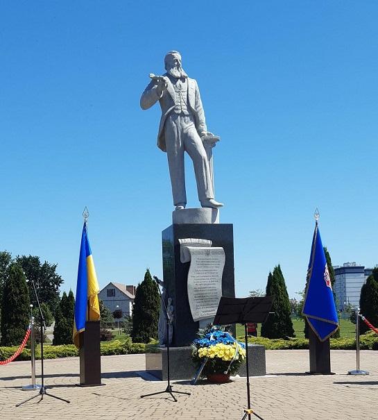 У Борисполі відкрили пам'ятник автору Гімну України – Павлу Чубинському