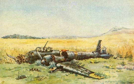 Киянин став одним з найкращих художників-баталістів, вивчивши підбиту військову техніку у Григорівці під Каневом…