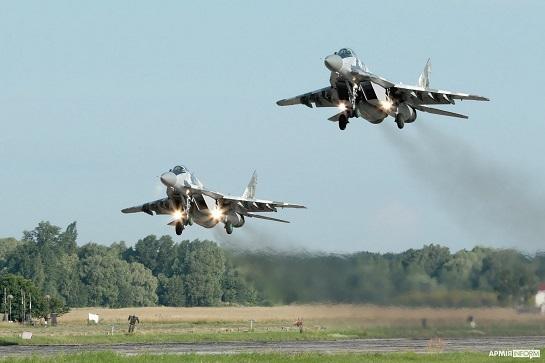 Ескадрилью винищувачів тактичної авіації підняли в повітря по тривозі…