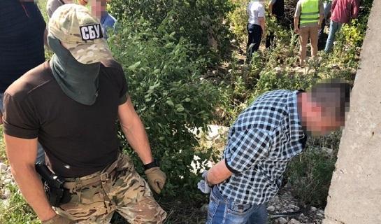 Контррозвідники СБУ затримали агента ФСБ Росії під час підготовки ним теракту