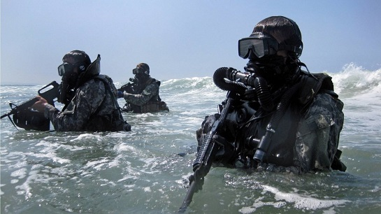 Бойові водолази ВМС України отримають спецспорядження зі Швеції