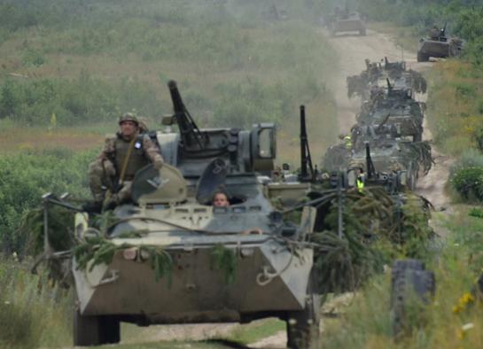 Десантно-штурмові війська проводять тактичні навчання