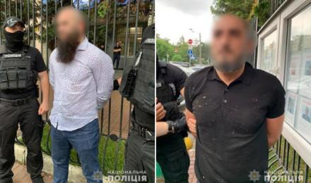 У Києві поліція затримала двох громадян Росії, які планували вчинити злочини в Україні
