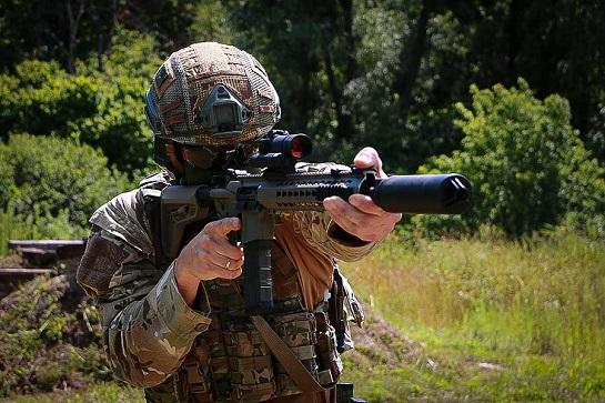 Спецпризначенців Нацгвардії озброїли кращими штурмовими гвинтівками НАТО