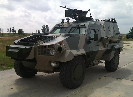 """Нові бронеавтомобілі """"Дозор-Б"""" прийняті на озброєння ЗСУ"""