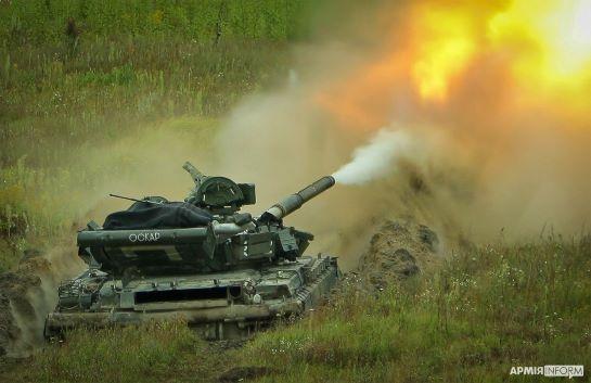 Військові змагання: танкісти ЗСУ підтримують максимальну боєготовність