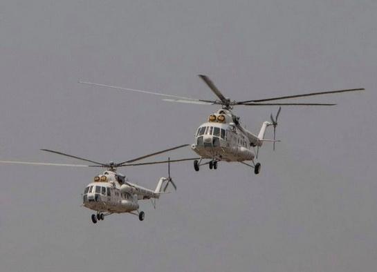 Бойові українські вертольоти здійснили 450-кілометровий переліт в Африці
