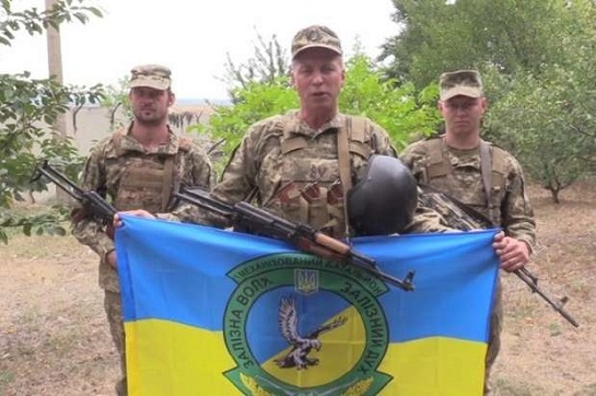 Військовослужбовці ООС записали відеовітання українцям з Днем Державного Прапора