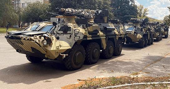 Новенькі БТР-4Е візьмуть участь у заходах Дня Незалежності: таких виготовлено вже 45 бронемашин