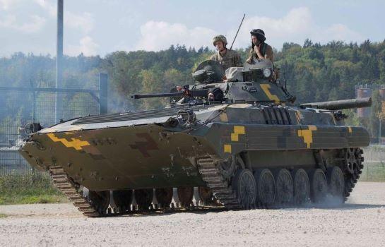 На навчаннях Combined Resolve XIV, у яких беруть участь бронемашини і військовослужовці ЗСУ, стартувала активна фаза маневрів