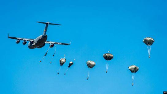Rapid Trident: Сили спецоперацій США і України відпрацьовують спільне десантування на ворожу територію