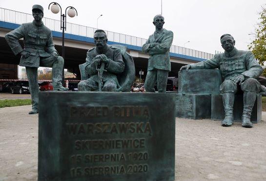 У Польщі до 100-річчя перемоги над московитами відкрили монумент з Петлюрою