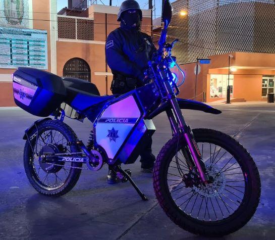 Наступними після поліцейських США, українські електробайки для патрулювання закупила поліція Мексики