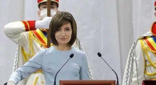 У інавгураційній промові Президент Молдови заговорила українською