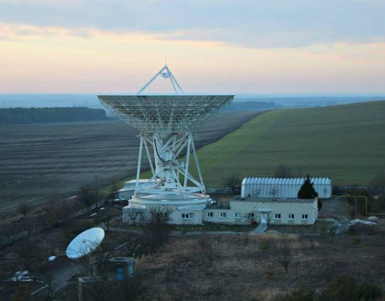 На Львівщині запрацював радіотелескоп для військових і космічних досліджень. Ще потужніший за вкрадений окупантами Криму