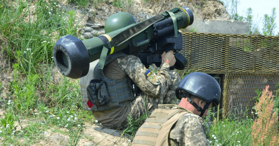 У 2020 році Україна отримала від США озброєння на більш аніж півмільярда доларів