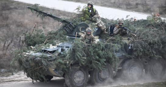 Танкісти, мотопіхота і десантники ЗСУ тренуються звільняти від ворога міста