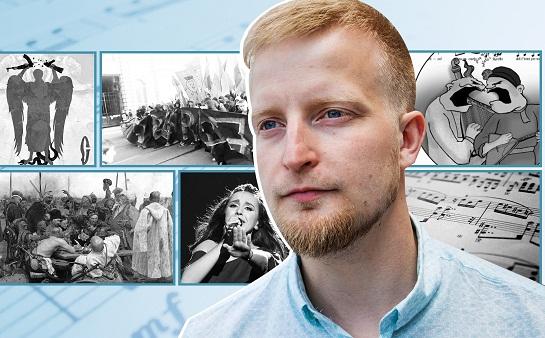 Політолог з Норвегії Арве Хансен переконаний: Україна і Росія воюють навіть… словами пісень