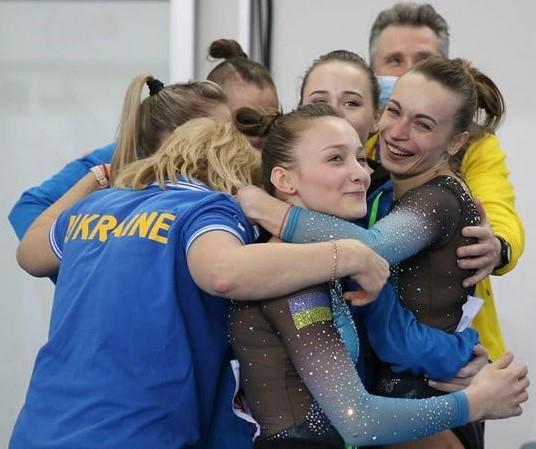 """Українки здобули """"золото"""" чемпіонату Європи зі спортивної гімнастики"""