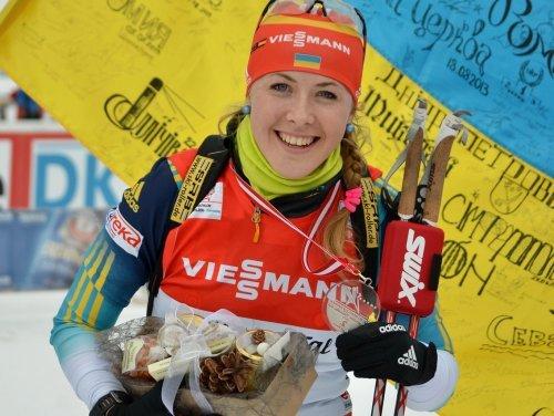 Українка – серед лідерок перегонів Кубка світу з біатлону