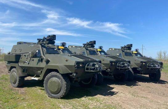 Військові отримали чергову партію нових бронемашин Oncilla