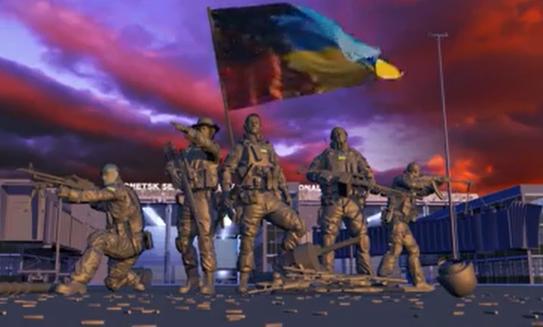 Відео з графікою на честь перемоги в Донаеропорту присвятили спецпризначенцю з Черкас