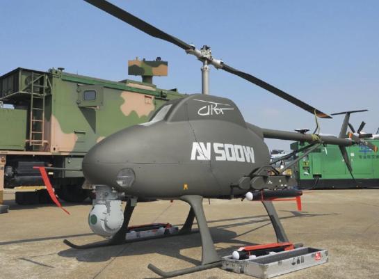 В Україні створено перший ударний безпілотник гелікоптерного типу