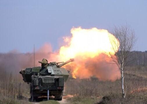 Самохідна артустановка з Чехії успішно пройшла випробування у Збройних силах України