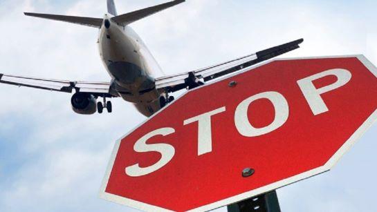 Україна повністю припиняє авіасполучення з Республікою Білорусь