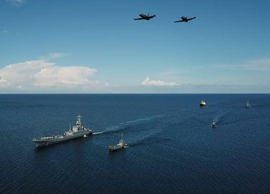 ВМС України провели у Чорному морі тактичне навчання корабельної десантної групи