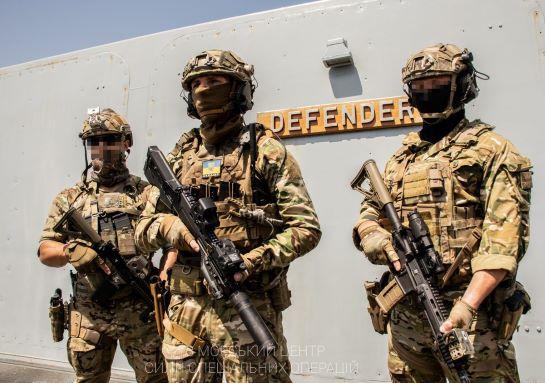 Сили спецоперацій України, Великобританії і США провели спільні тренування на есмінці Defender