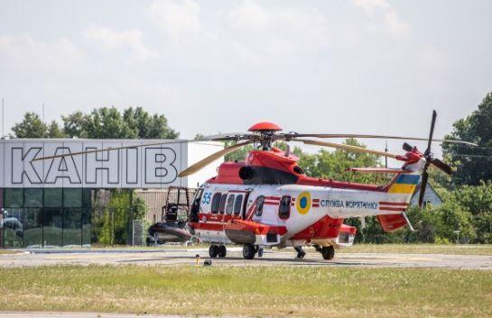 У Каневі базуватимуться два вертольоти Airbus H145 Нацполіції України