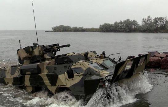 Нові бронеамфібії для морської піхоти успішно пройшли випробування