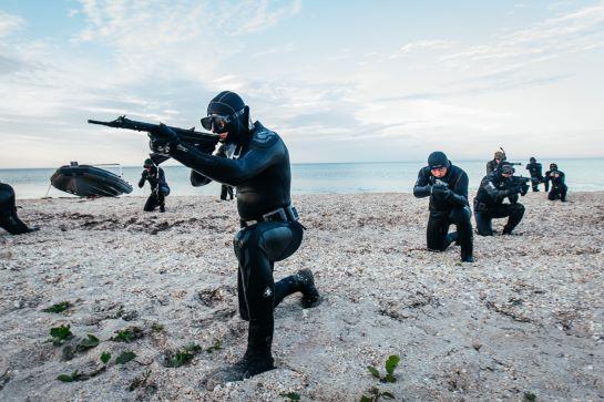 Нацгвардія і Сили спецоперацій готові до несподіваної висадки на ворожому березі моря