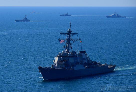 """У Чорному морі ворог панувати не буде! """"Сі Бриз"""" відпрацював бойове злагодження НАТО і партнерів"""