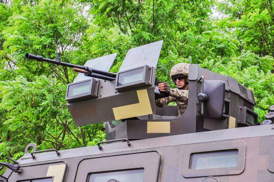 Багатонаціональна тактична група відпрацювала рейдові дії в тилу противника