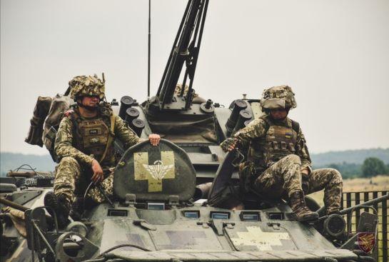 На Львівщині проходять вишкіл резервісти десантно-штурмових військ