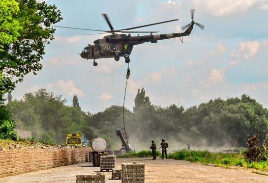 """Активна фаза """"Сі Бриз – 2021″: багатонаціональні сили провели """"операцію зі стабілізації у кризовому регіоні"""""""