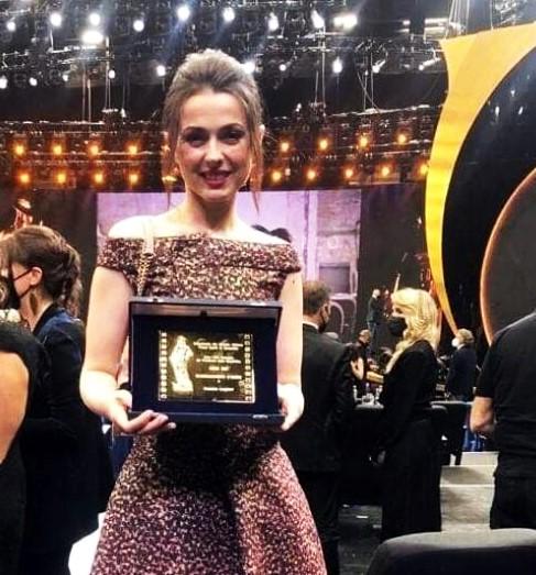Українка отримала почесну італійську кінопремію