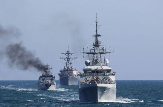 Морська охорона ДПСУ пройшла бойове злагодження з кораблями НАТО